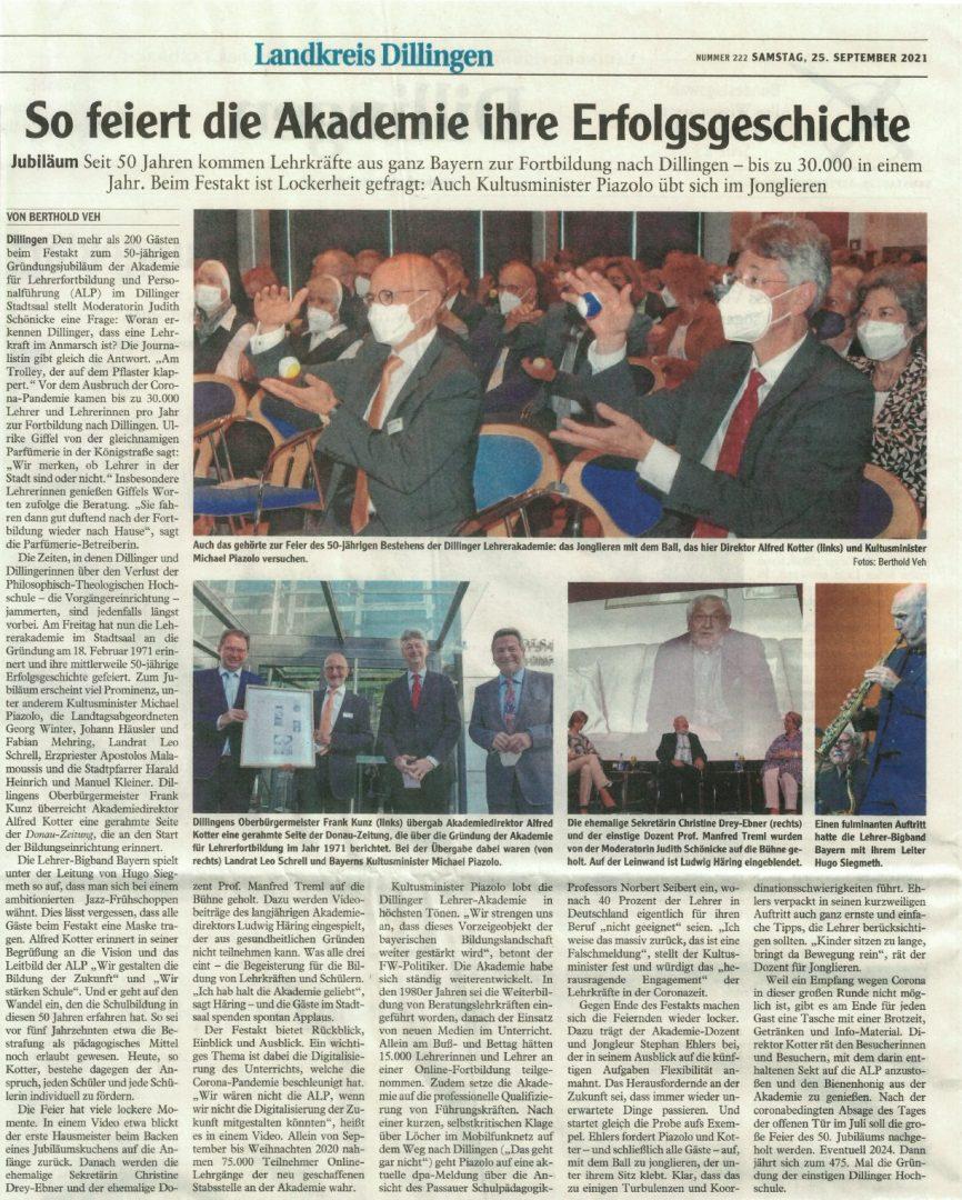 Donaukurier - 25.09.2021